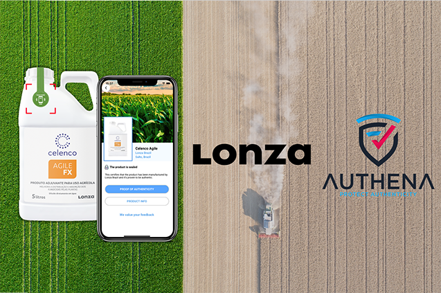 Lonza joins forces with Authena to improve traceability and authenticity in crop protection