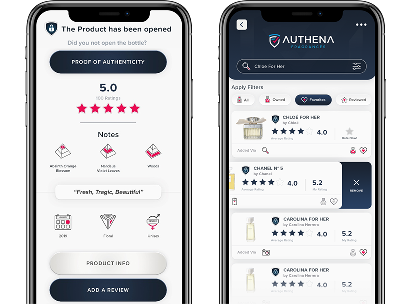 consumer application with product information after scanning