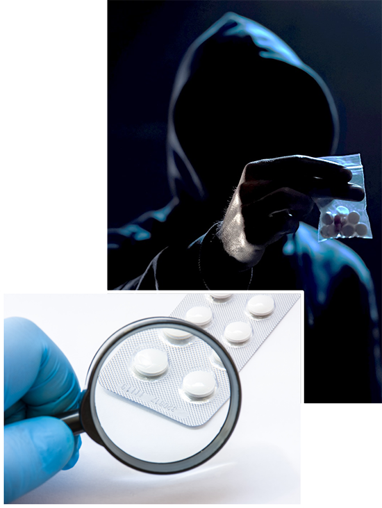 counteracting the problem of counterfeit pharmaceuticals